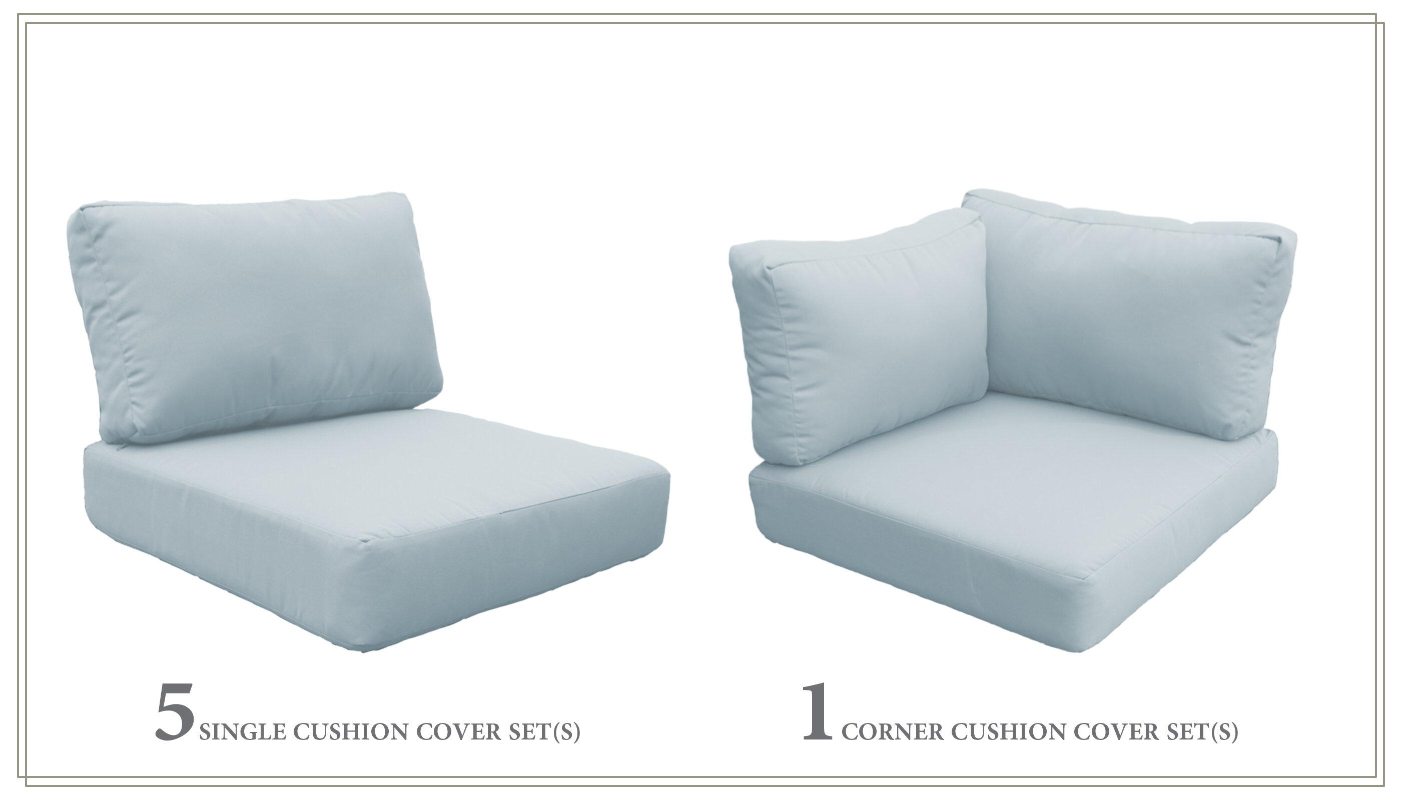 Sol 72 Outdoor High Back Indoor Outdoor Sofa Cushion Wayfair