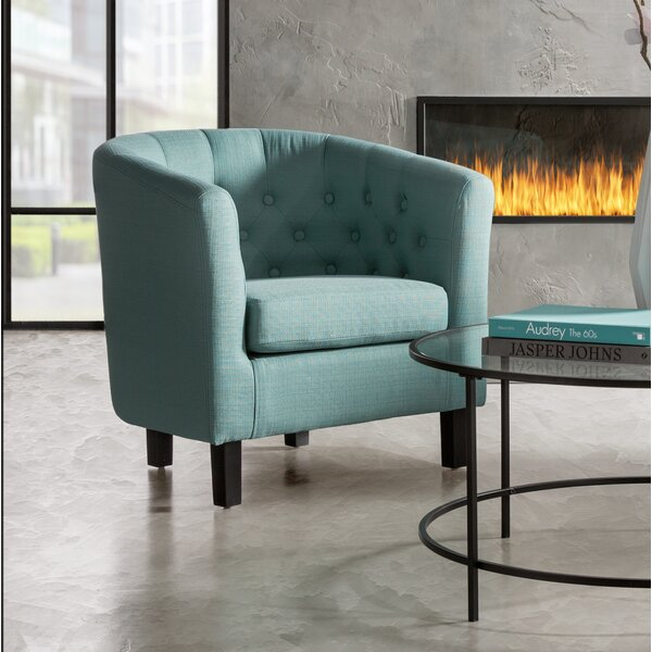 Ziaa Barrel Chair by Zipcode Design