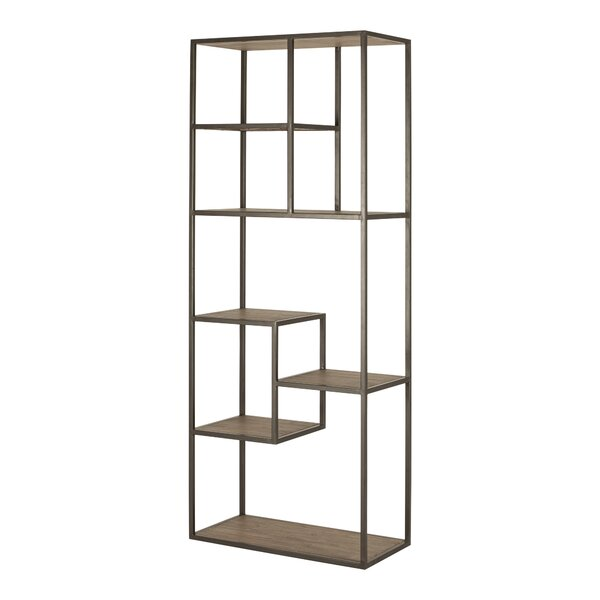Rishaan Geometric Bookcase By Union Rustic