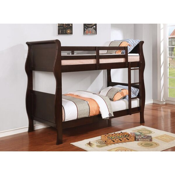 Serpa Twin Over Twin Bunk Bed by Harriet Bee