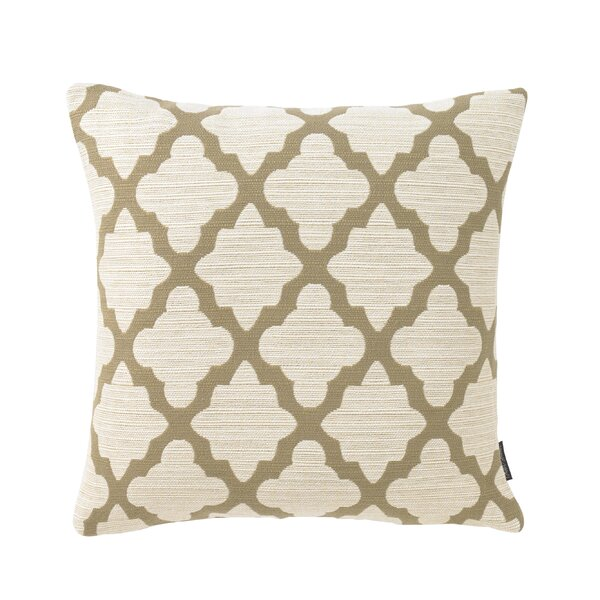 Casablanca Toffee Pillow by Mozaic Company