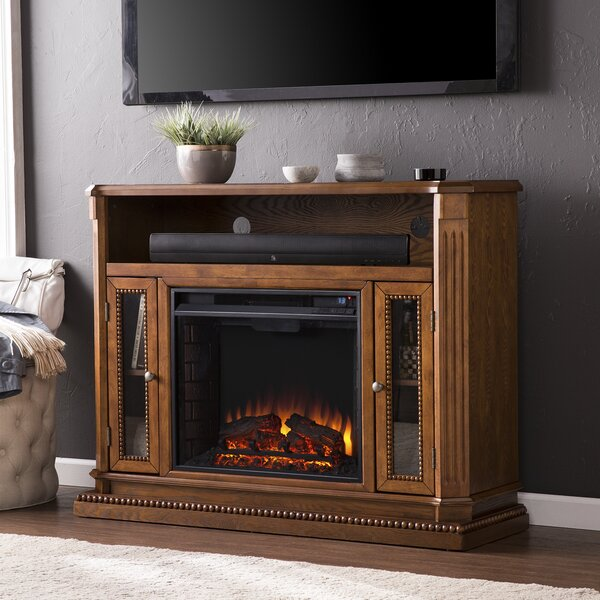 Delaney 47 TV Stand with Fireplace by Wildon Home ®