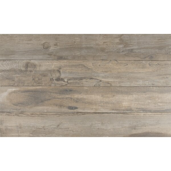 Salvage 6 x 40 Porcelain Wood Tile in Glazed Musk by MSI