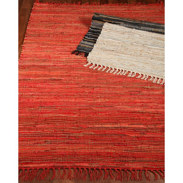 Concepts Handmade Red Area Rug by Natural Area Rugs