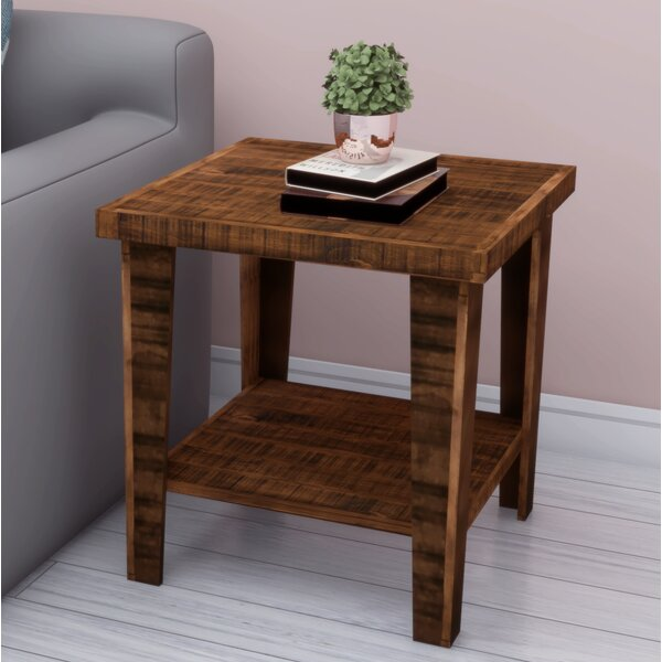 Woodworth End Table by Millwood Pines