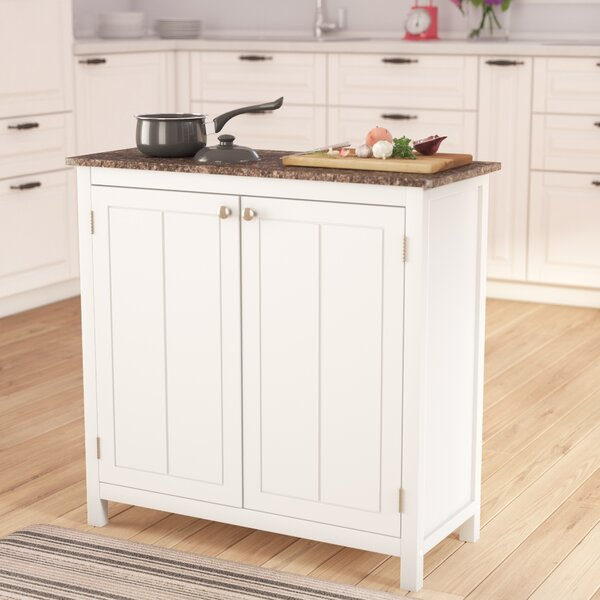 Haubrich Kitchen Island by Alcott Hill