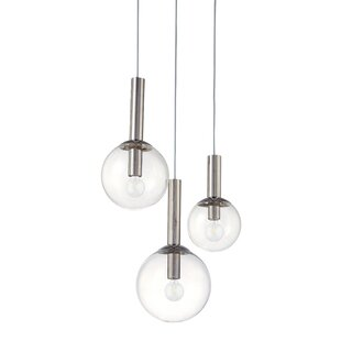 Bubbles 3-Light Pendant  sc 1 st  AllModern & Modern u0026 Contemporary Bubble Glass Pendant Light | AllModern