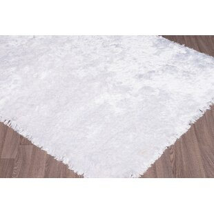 Big Save Bourg Hand-Woven White Area Rug By Everly Quinn