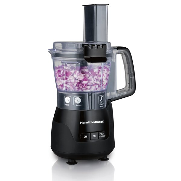 Stack & Snap 4-Cup Compact Food Processor by Hamil
