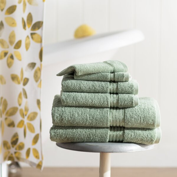 Epsom 6 Piece Cotton Towel Set by The Twillery Co.