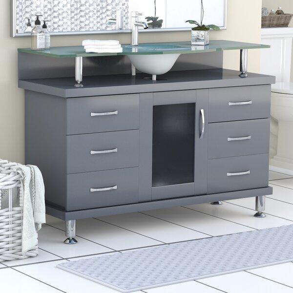 Runion 48 Single Bathroom Vanity Set by Latitude Run