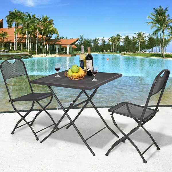 Watervale 3 Piece Bistro Set by Latitude Run