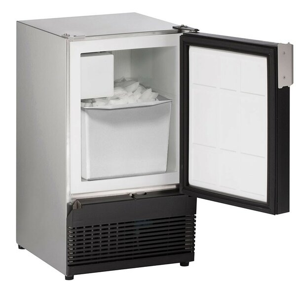 Marine Series Stainless 25 lb. Daily Production Freestanding Ice Maker by U-Line