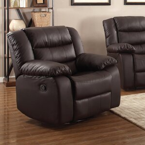 Casta Modern Manual Rocker Recliner by Living In Style