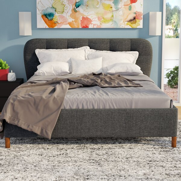Ostrowski Upholstered Platform Bed by Latitude Run