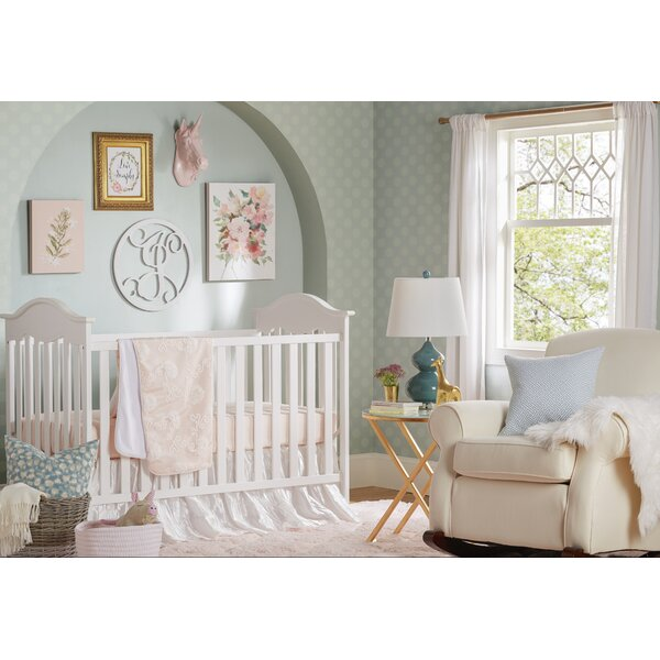 Lil Princess 3 Piece Crib Bedding Set by Sweet Potato by Glenna Jean
