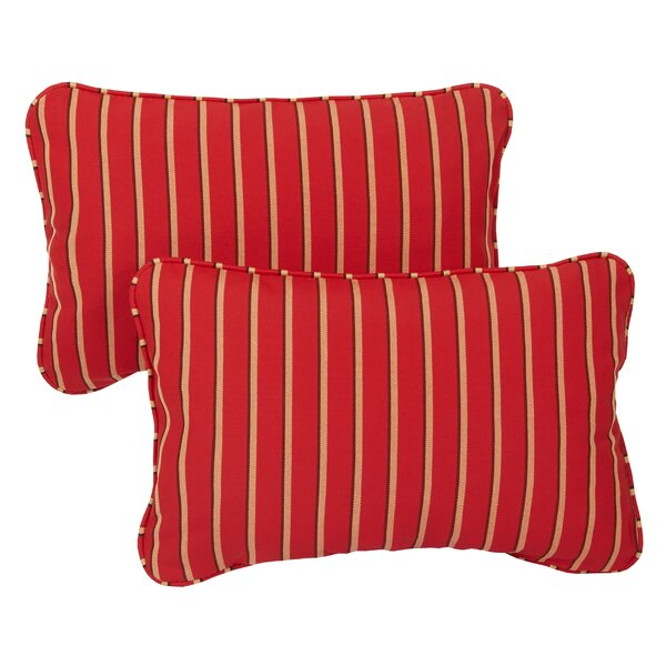 Coddington Outdoor Lumbar Pillow (Set of 2) by Andover Mills