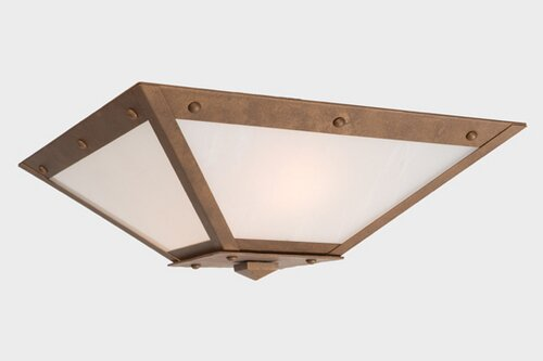 Beideman 2-Light Flush Mount by Loon Peak