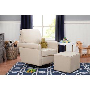 Price comparison Maya Swivel Glider and Ottoman By DaVinci