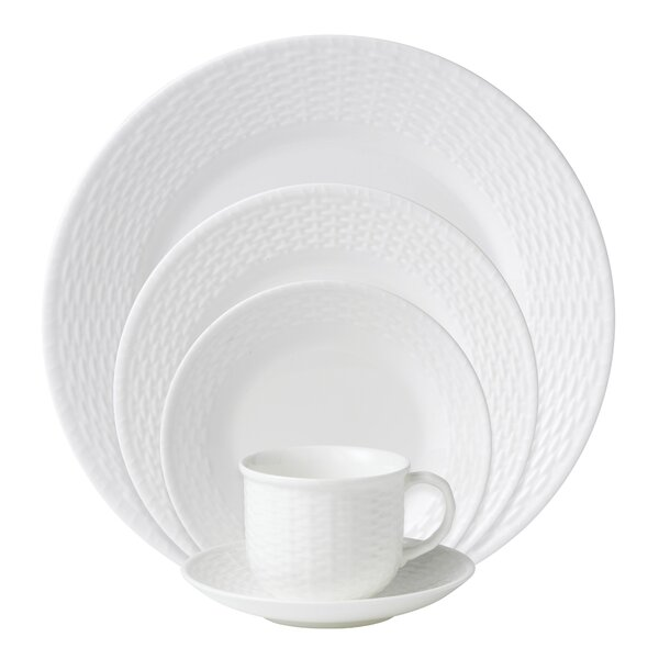 Nantucket Bone China 5 Piece Place Setting, Service for 1 by Wedgwood