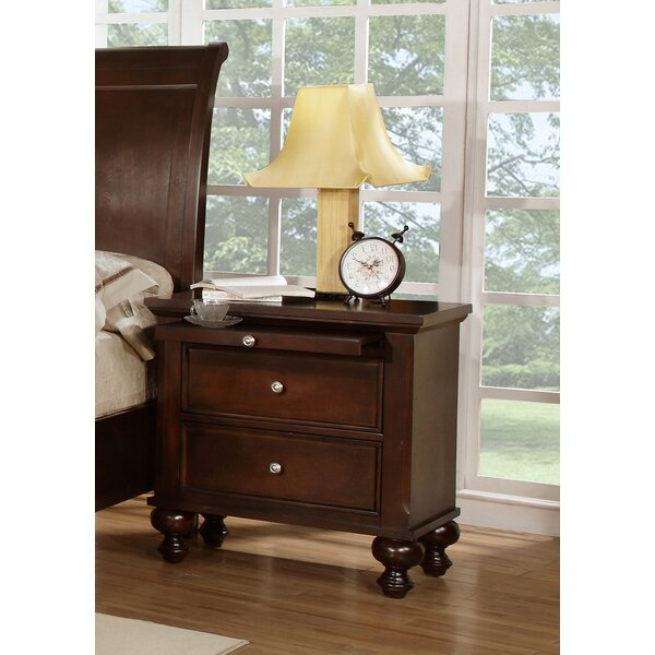 Asher 2 Drawer Nightstand by Wildon Home ®