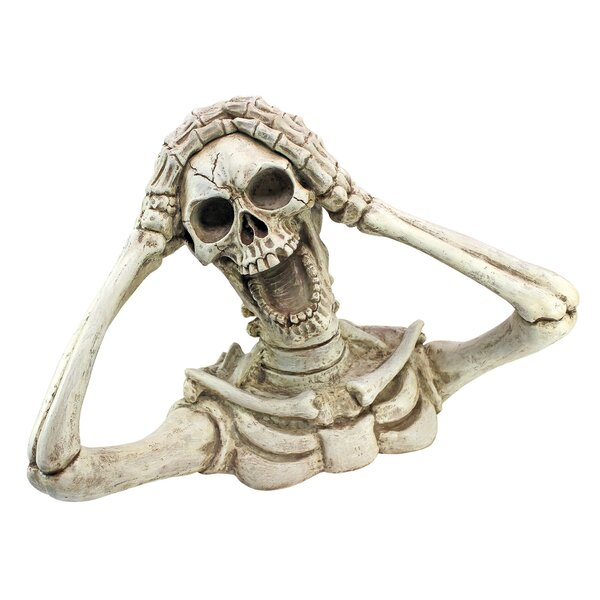 Shriek, the Skeleton Statue by Design Toscano