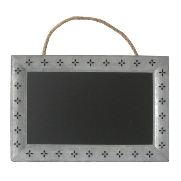 Metal Wall Mounted Chalkboard by Cheungs