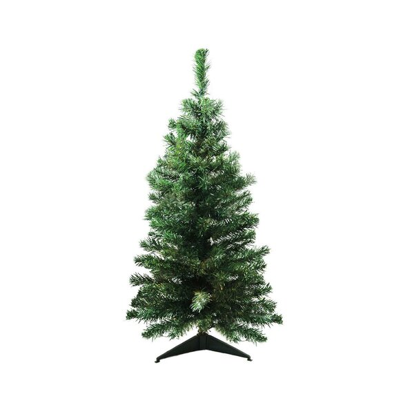 Mixed Classic 3' Green Pine Artificial Christmas Tree By The Holiday Aisle by The Holiday Aisle