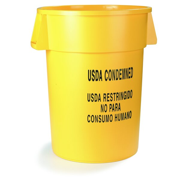 Bronco 20 Gallon Trash Can (Set of 6) by Carlisle Food Service Products