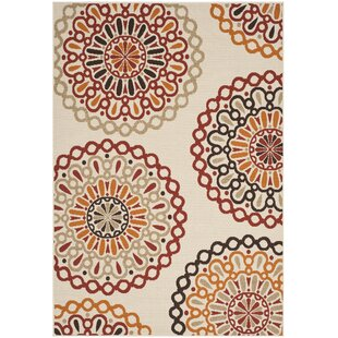 Blackford Power Loomed Beige Indoor/Outdoor Area Rug By Zipcode Design