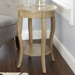Reviews Adelina End Table with Cabriole Legs By Alcott Hill