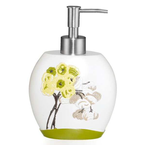 Canteen Flower Lotion Dispenser by Popular Bath