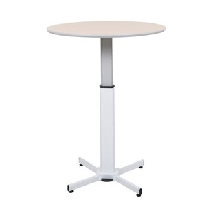 Pneumatic Adjustable Round Pedestal Table