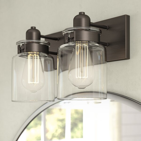 Vasilia 2 Light Vanity Light [Laurel Foundry Modern Farmhouse]