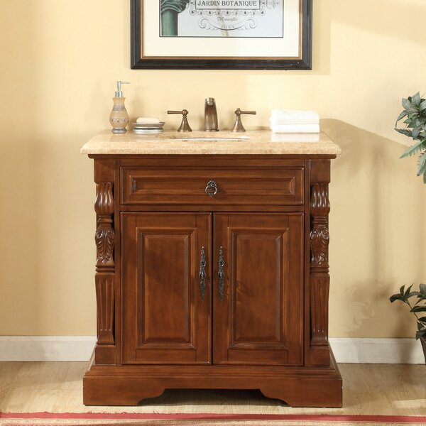 36 Single Sink Bathroom Vanity Set by Astoria Grand