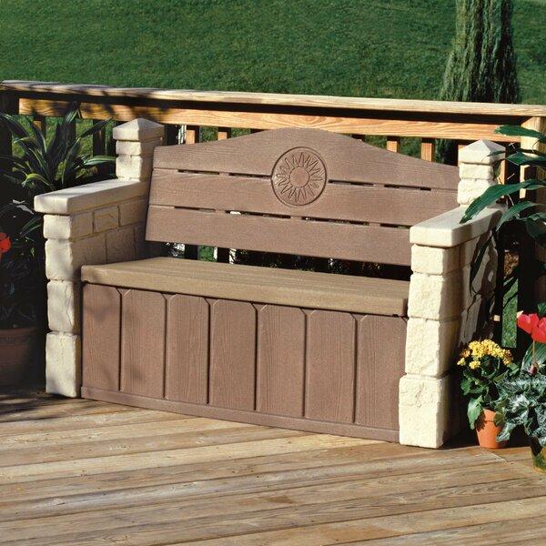 Storage & More Storage Bench by Step2