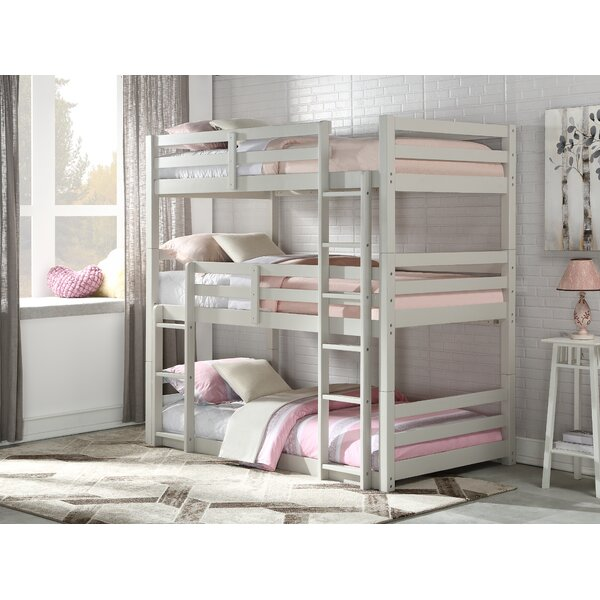 Henninger Twin Over Twin Over Twin Triple Bed By Harriet Bee by Harriet Bee Wonderful