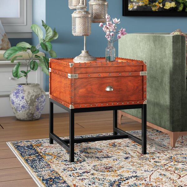 Mojica End Table by World Menagerie