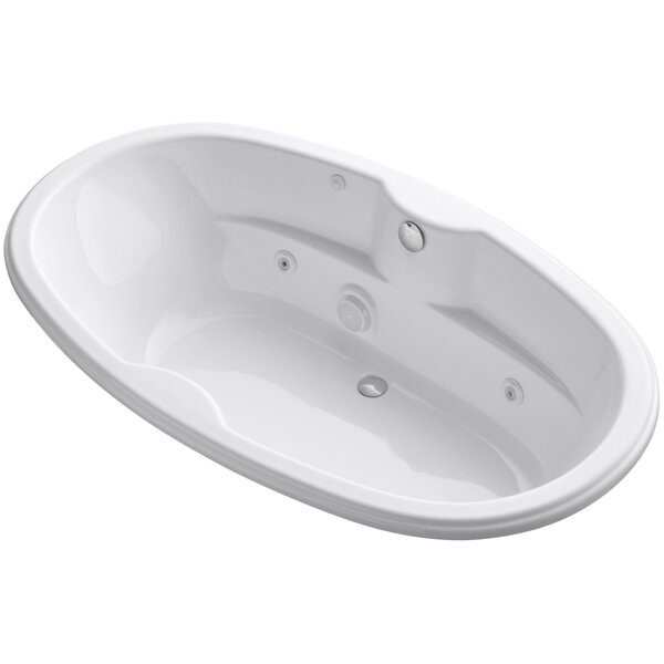 Proflex 72 x 42 Drop In Whirlpool Bathtub by Kohler