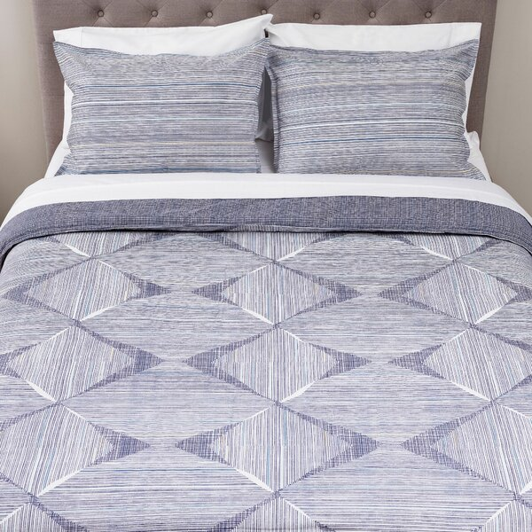 Clayton 3 Piece Comforter Set by Wrought Studio
