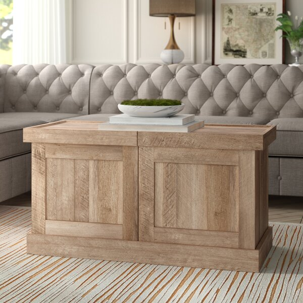 Ringgold Extendable Solid Coffee Table By Greyleigh