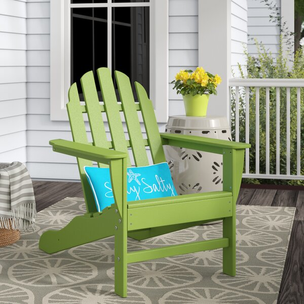 Belfast Plastic/Resin Adirondack Chair by Beachcrest Home Beachcrest Home