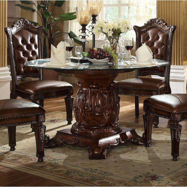 Welles Traditional Dining Table by Astoria Grand
