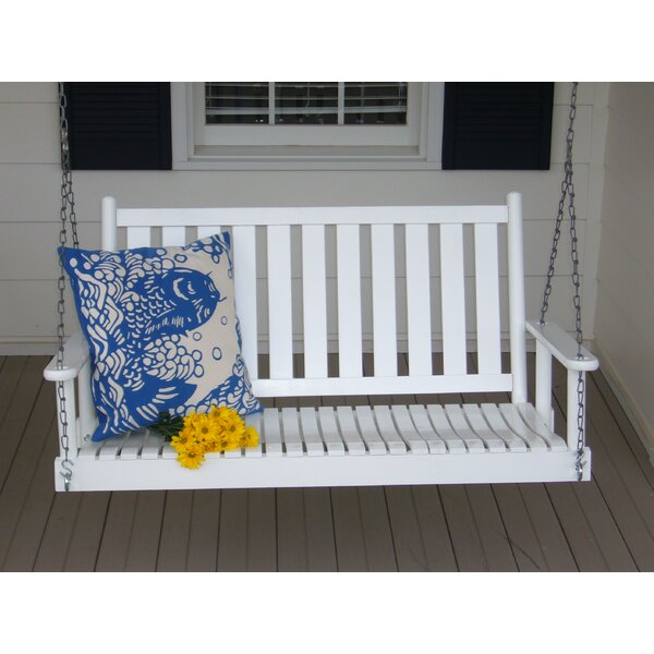 Porch Swing with Chain by Dixie Seating Company
