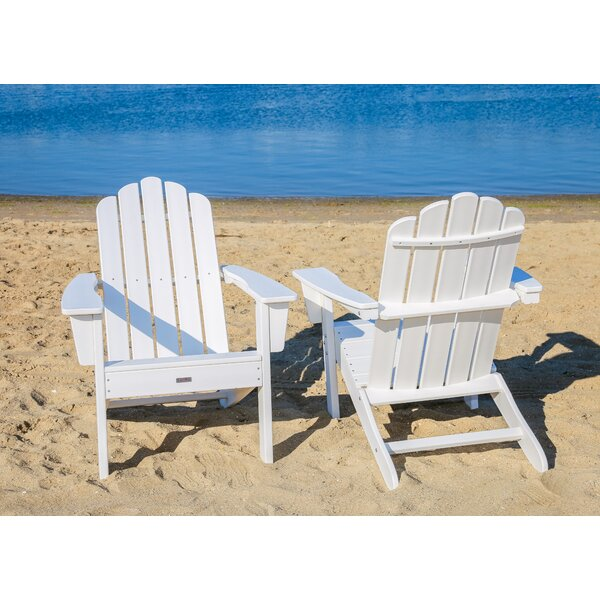 Pedigo Patio Plastic Adirondack Chair (Set Of 2) By Breakwater Bay