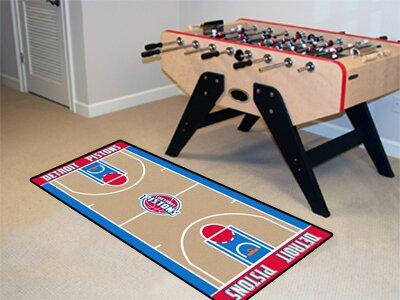 NBA - Detroit Pistons NBA Court Runner Doormat by FANMATS
