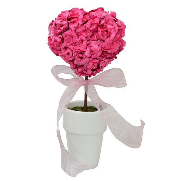 Rose Heart Topiary by The Holiday Aisle