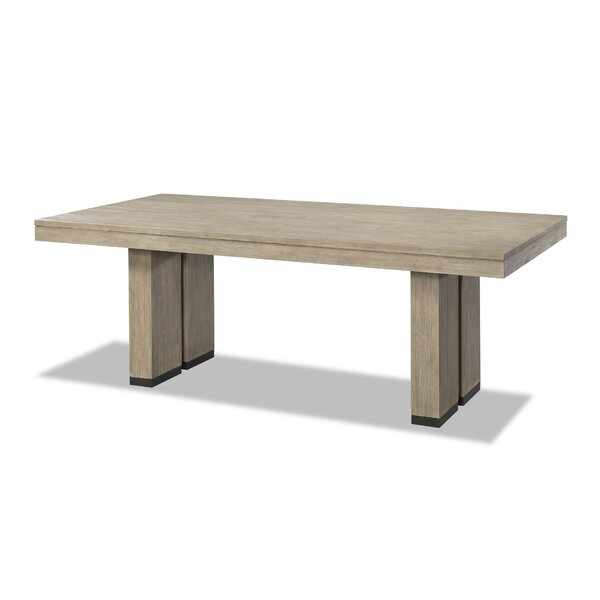 Kadence Trestle Dining Table by Loon Peak
