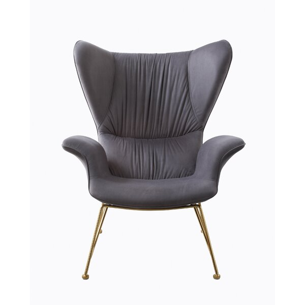 Rivoli Wingback Chair by Brayden Studio