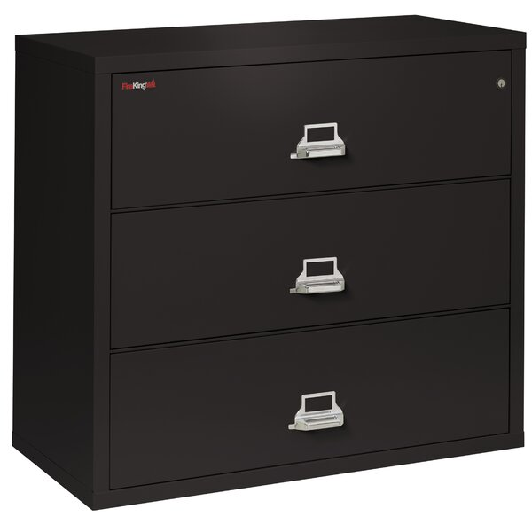 3-Drawer Lateral File Cabinet by FireKing